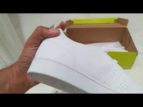 Adidas advantage clean vs sneakers unboxing and review