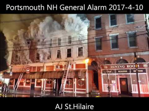 Portsmouth NH General Alarm 2017-4-10