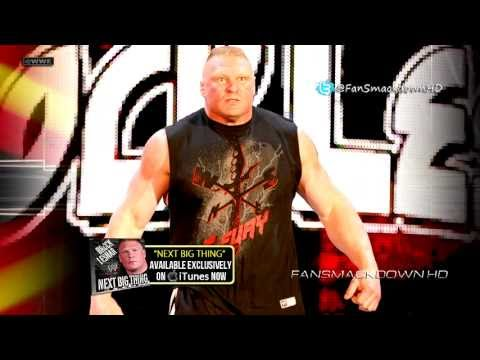 """2013: Brock Lesnar 6th WWE Theme Song - """"Next Big Thing"""" (Remix/Remastered) (HD) + Download Link"""