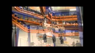 Railtechiek van Herwijnen BV. Teleflex T4 Power and Free Overhead Conveyor System