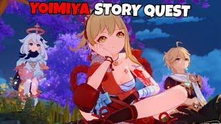 Фото Yoimiya Story Quest - Chapter: Act I - Dreamlike Timelessness - Genshin Impact