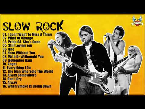 Slow Rock Nonstop Medley 80's 90's Playlist - Best Slow Rock Love Songs of All Time