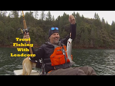 Trout Fishing With Leadcore Line
