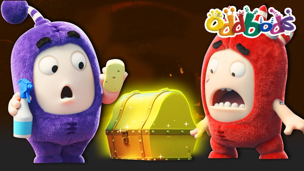 ODDBODS | NEW | TREASURE ISLAND | Funny Cartoons For Kids