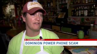 Phone scam targets Dominion Virginia Power customers
