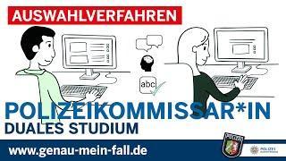 Polizei NRW Karriere - Auswahlverfahren - Erklärvideo