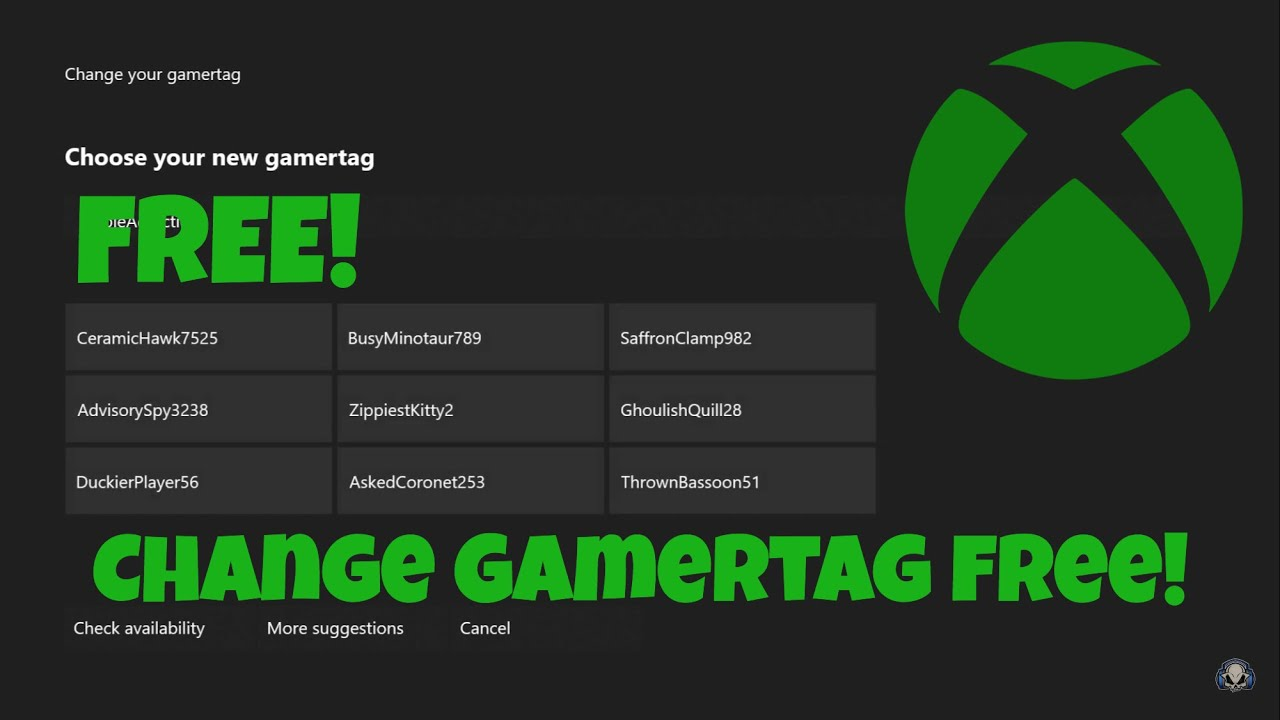 How to change your Xbox gamertag | Xbox Support