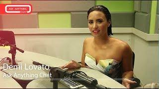 Demi Lovato Interactive Chat w/ Romeo Saturday Night Online  - AskAnythingChat
