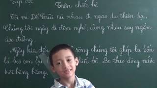 Tiếng Việt Lớp 2: Trên chiếc bè (Tập đọc và trả lời câu hỏi)
