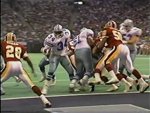 1990 Week 12 Washington Redskins @ Dallas Cowboys 2nd half