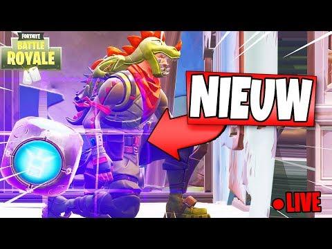 *NIEUWE* PORT-A-FORT UPDATE!! | Fortnite: Battle Royale LIVE (Nederlands NL)