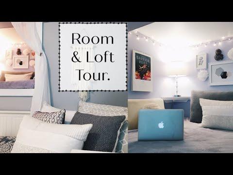 ROOM & LOFT TOUR 2016!!