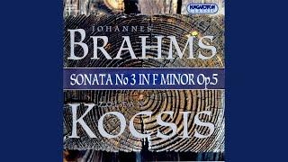 Sonata No. 3 in F minor Op. 5: IV. Intermezzo (Rückblick) . Andante molto