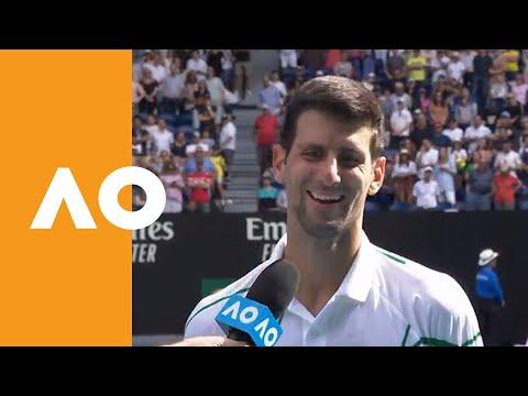 "Novak Djokovic: ""I Knew If I Gave Him Time He Could Do A Lot Of Damage"" | Australian Open 2020 R4"