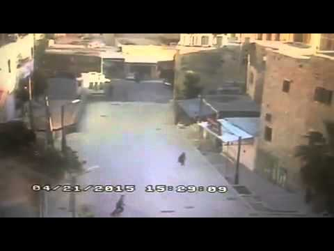 צפו: חיסול המחבל שדקר לוחם מג״ב ליד מערת המכפלה