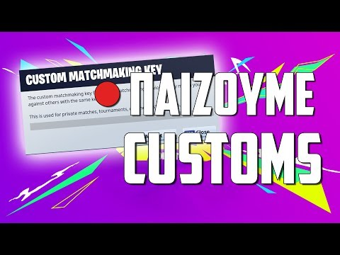 🔴CUSTOM GAMES ΜΕ ΕΣΑΣ / FORTNITE BATTLE ROYALE (Use Code : iz-grypas)