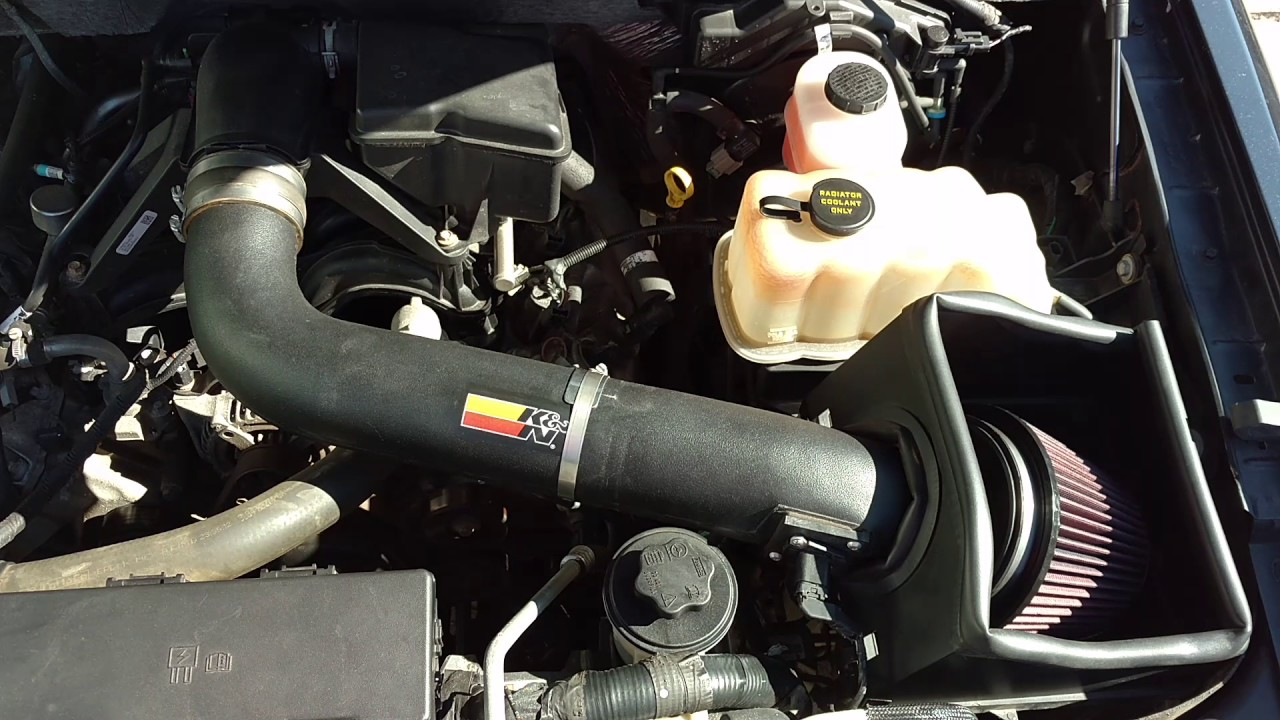 Ford F L Kn Cold Air Intake