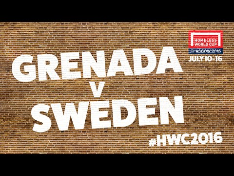 Grenada v Sweden | Second Stage Group E #HWC2016