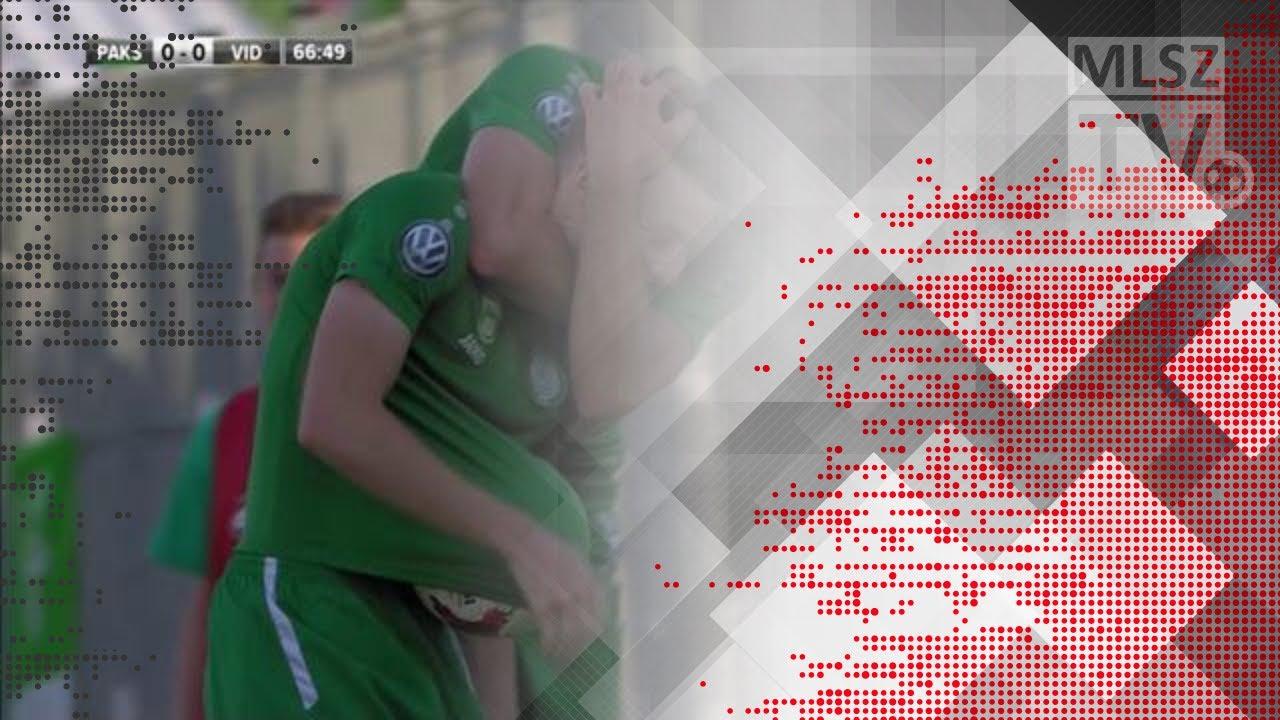 Haraszti Zsolt gólja a Paksi FC - Videoton FC mérkőzésen