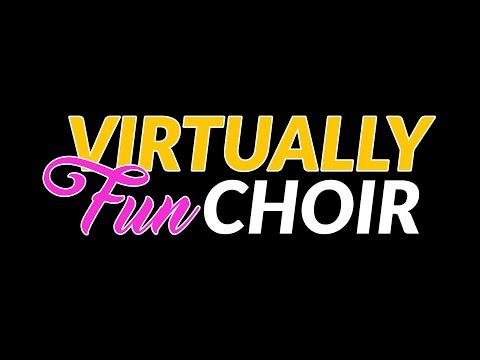 Virtually Fun Choir Invitation - Song - It's Time For Sayang Sayang