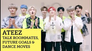 Baixar ATEEZ talk roommates, future goals and dance moves