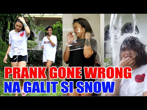 PRANK GONE WRONG | GALIT NA GALIT SI SNOW | SY Talent Entertainment