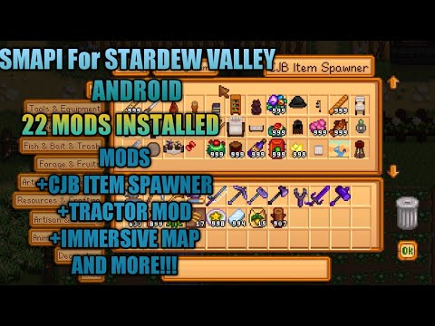 stardew valley tractor mod download