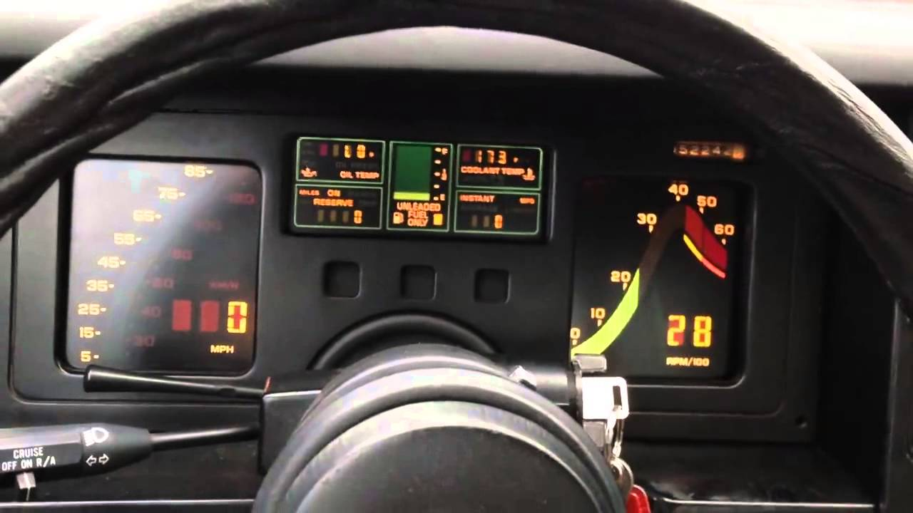 Corvette C4 1984 Digital cluster  Repair  YouTube