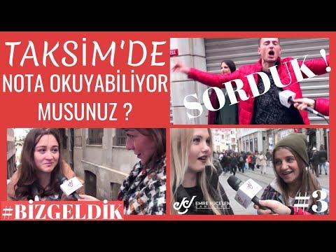 Taksim'de ''Nota Okuyabiliyor Musunuz ?'' Diye Sorduk ! Biz Geldik #3 challenge