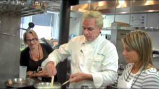 David Bouley Makes Comte Foam With Roasted Asparagus