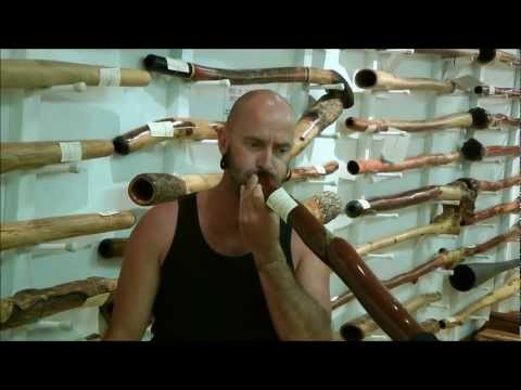 CrookedStixz Didgeridoo AH107 at Spirit Gallery Sydney