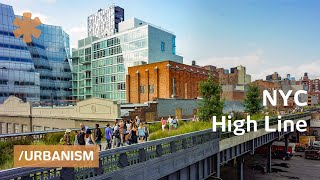 High Line: abandoned NYC rail becomes skinny park in the sky