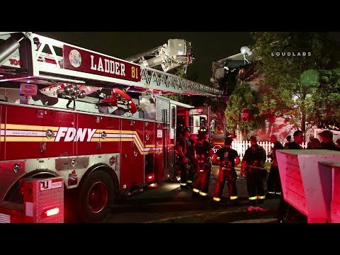 Staten Island Two Injured In 2 Alarm House Fire