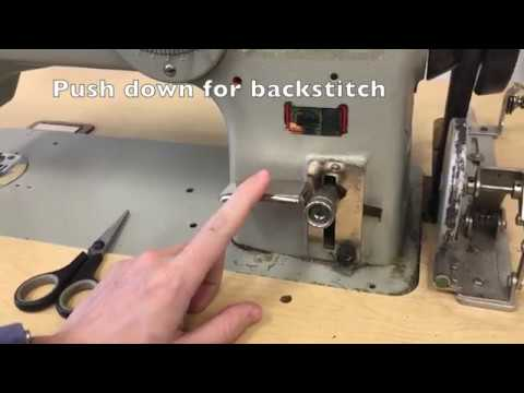 Week 1 - Using & Threading an Industrial Sewing Machine