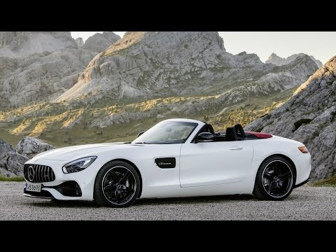 Mercedes AMG GT Roadster Diamond White Bright - Design and Drive