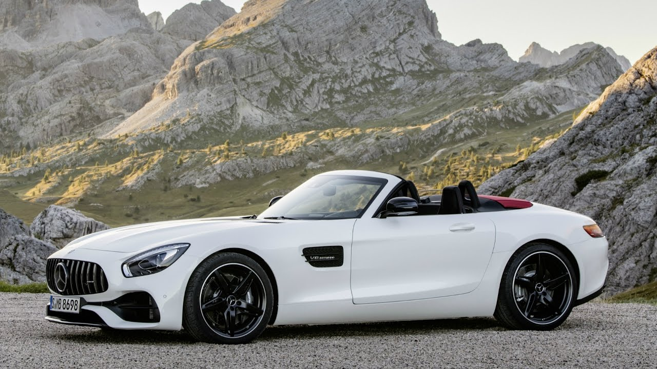 mercedes amg gt roadster diamond white bright design and drive youtube. Black Bedroom Furniture Sets. Home Design Ideas