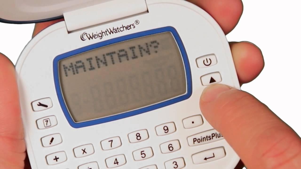 Weight Watchers Points Plus Calculator Quicktip Youtube
