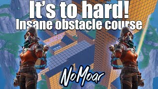 Ridiculously Hard Obstacle Course! Fortnite Creative mode