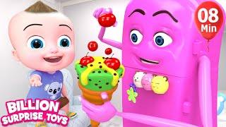 Refrigerator & Friends  Song + More BST Nursery Rhymes & Kids Songs