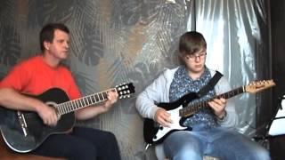 05 ДОМ восходящего СОЛНЦА на гитаре