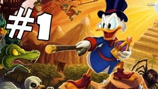 DuckTales Remastered Walkthrough Part 1 Gameplay Review Lets Play Playthrough PC PS3 XBOX 360