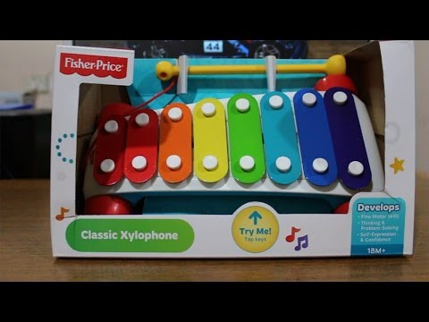 Fisher Price Musical Toys Classic Xylophone Play