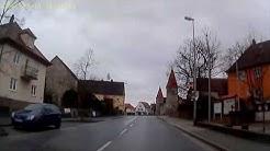 D: Effeltrich. Landkreis Forchheim. Ortsdurchfahrt Richtung Erlangen. Februar 2014
