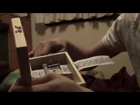 Paper sheet music box Aphex Twin - Avril 14th