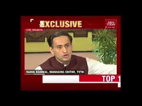 Shri Amit Shah's interview to Rahul Kanwal, India Today in Kolkata (26 April 2017)
