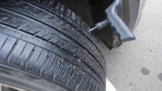 Как отремонтировать шину