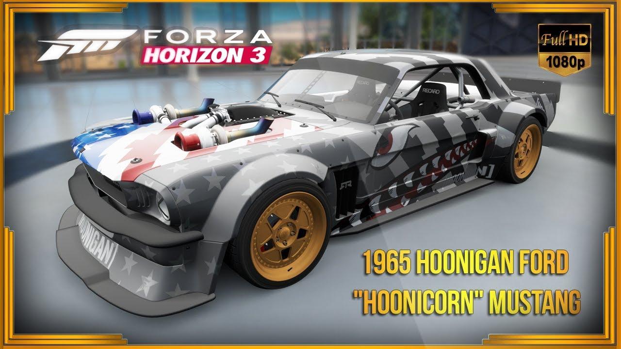 "Forza Horizon 3 - 1965 Hoonigan Ford ""Hoonicorn"" Mustang ..."