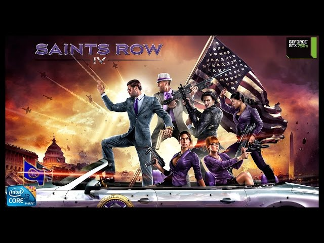 Saints Row Iv - I3 3250 + Gtx 750ti - Full Hd