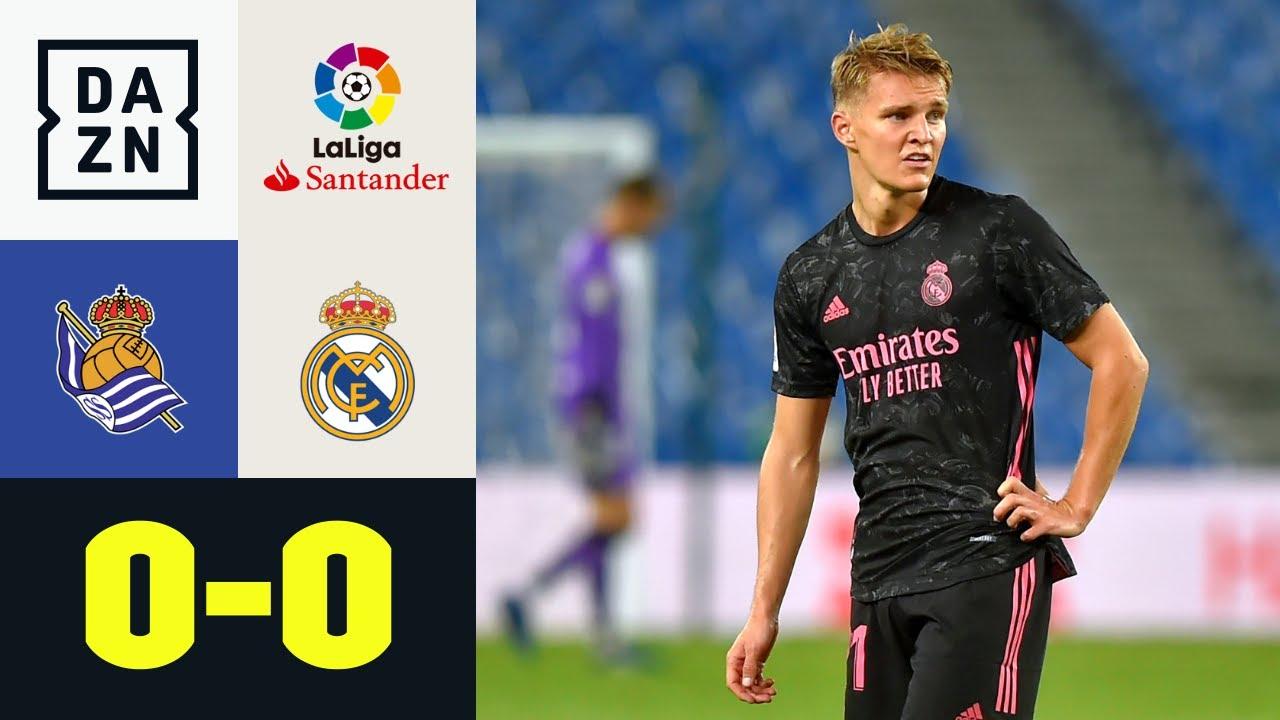Müde Nullnummer bei Ödegaard-Rückkehr: Real Sociedad - Real Madrid 0:0 | LaLiga | DAZN Highlights