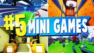 Top 5 Best SPORTS Mini Game MAPS In Fortnite | Fortnite Mini Game CODES
